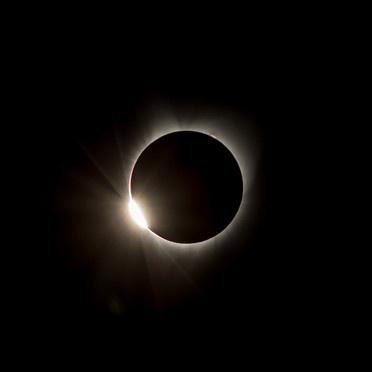 Great American Eclipse - Diamond Ring 2nd Touch