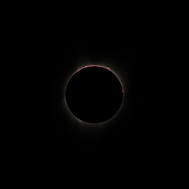 Great American Eclipse - Prominences and the Chromosphere