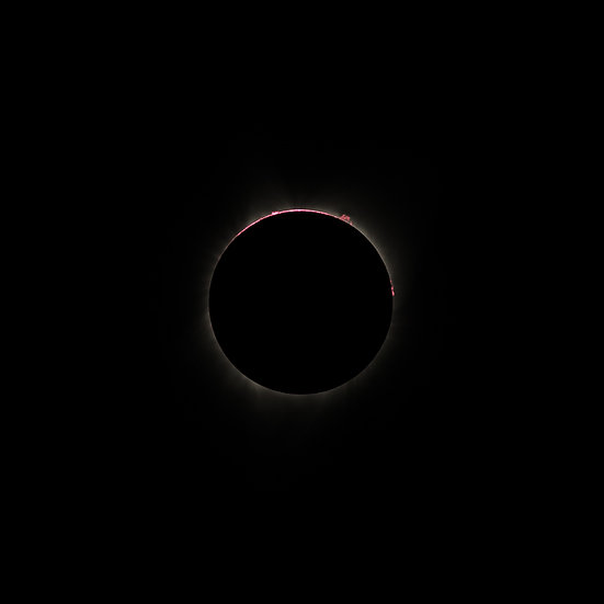Great American Eclipse - Prominences and the Chromosphere 2