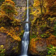 Multnomah Falls Autumn