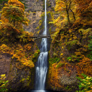 Multnomah Falls Autumn