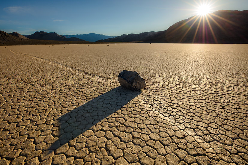 Racetrack Playa Sunset (Death Valley N.P.)