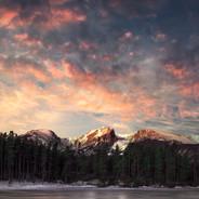 Sprague Lake Winter Sunrise