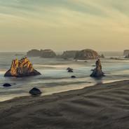 Oregon Coast Sunrise (Bandon, Ore)