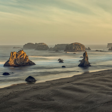 Oregon Coast Sunrise (Bandon, Ore)