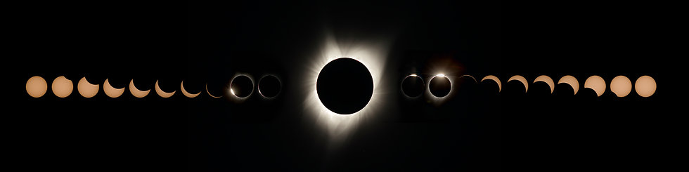 Great American Eclipse 2017 - All Phases Pano (2)