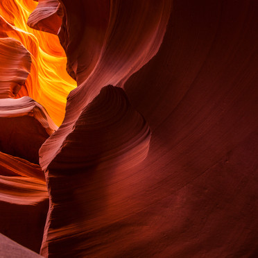 Antelope Slot Canyon (Flowing Color)