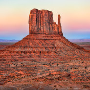 Monument Valley Color Burst (Left Mitten)