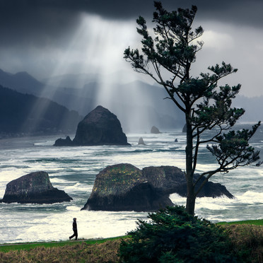 Cannon Beach Storm
