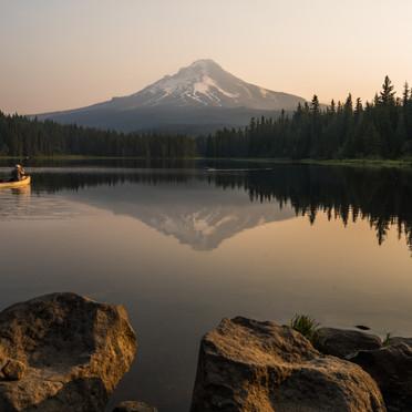 Mt Hood and Trillium Lake Sunrise