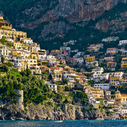 Positano Cliffs and Water
