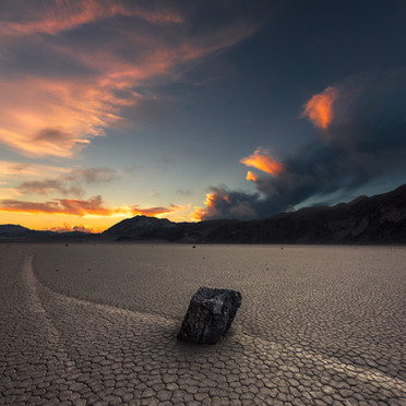 Racetrack Playa Sunrise