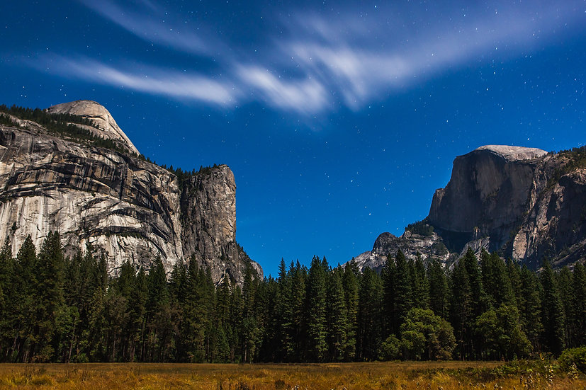Half Dome Under The Stars (Yosemite N.P.)