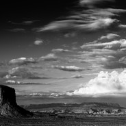 Monument Valley Clearing Storm