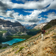 Relaxing Moment with Lake O'Hara
