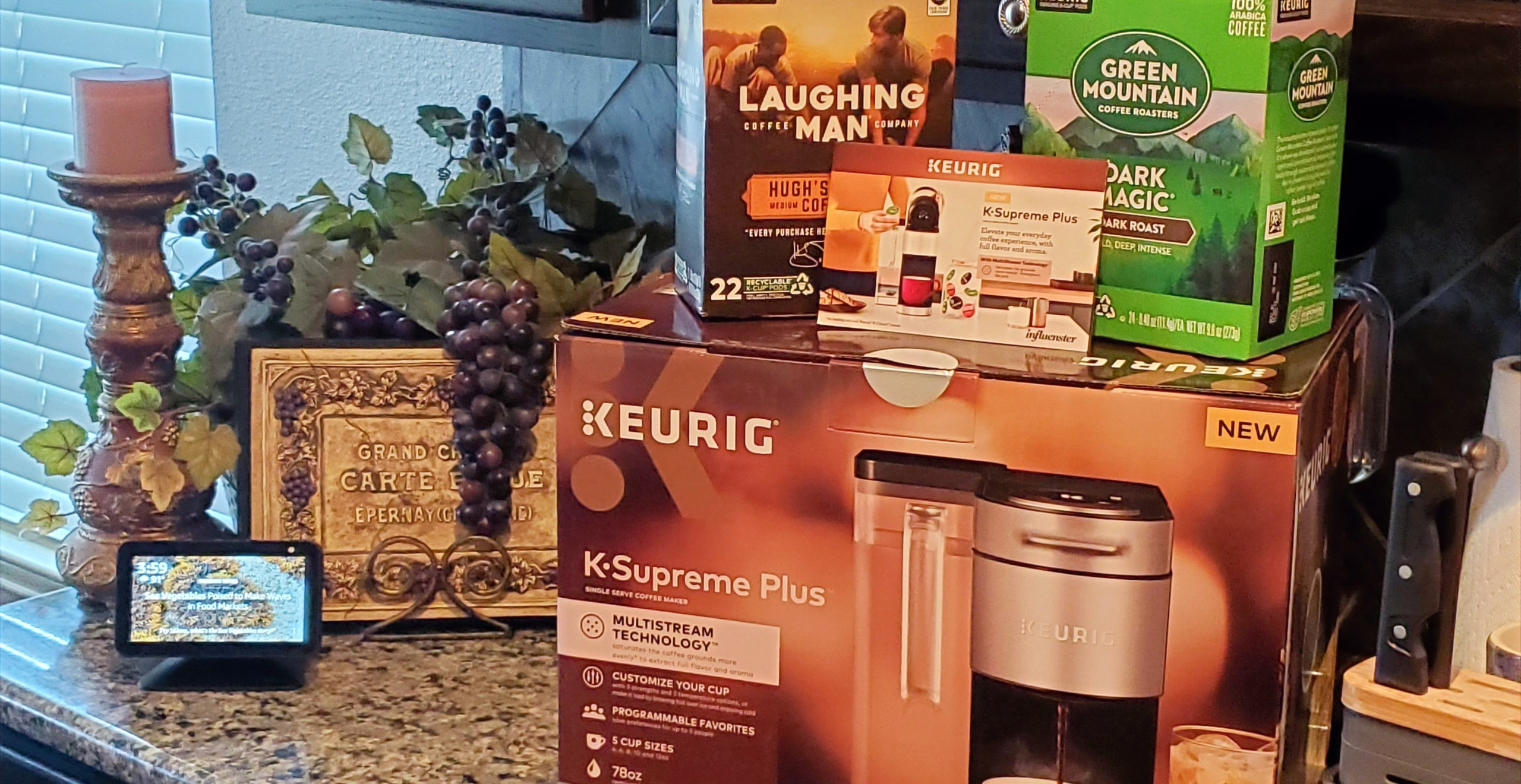 Keurig K-Supreme Plus Coffee Maker
