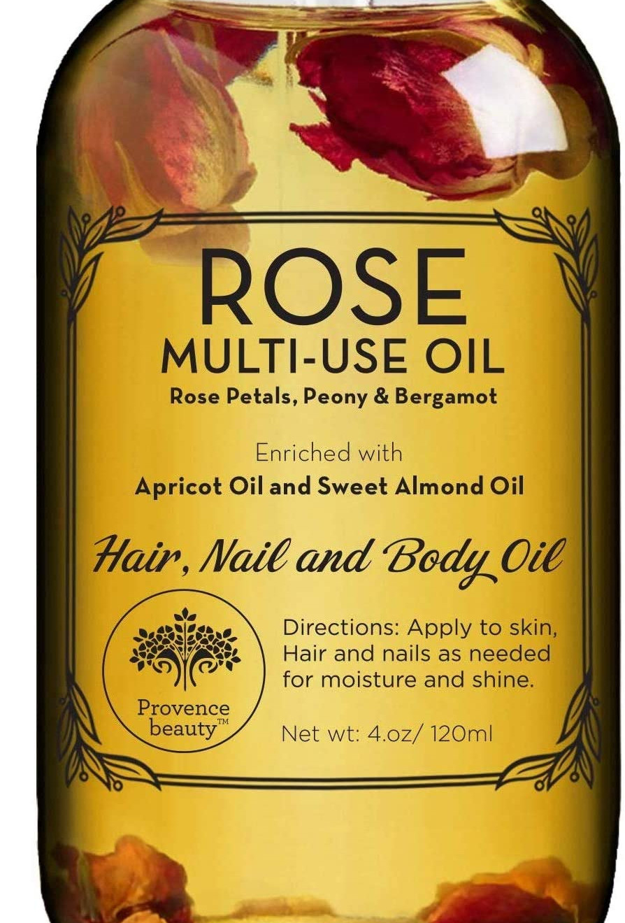 Rose Multi-Use Body Oil from Provence Beauty
