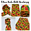 "Thumbnail: KENTE Cloth Extra Long 72""×22"" Headwrap  African Print Wrap/Scarf"