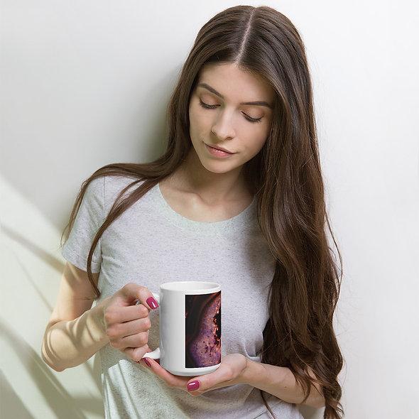 Red Hot Agate Mug