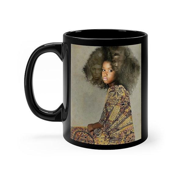 Beauty is Her Name - Black mug 11oz