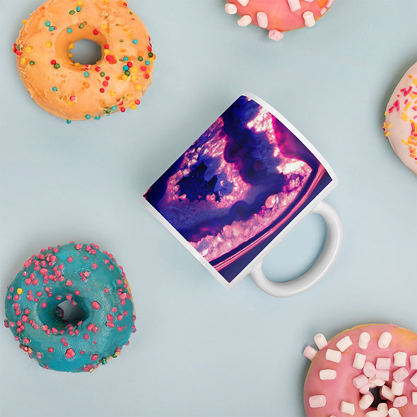 Purple Haze Agate Mug