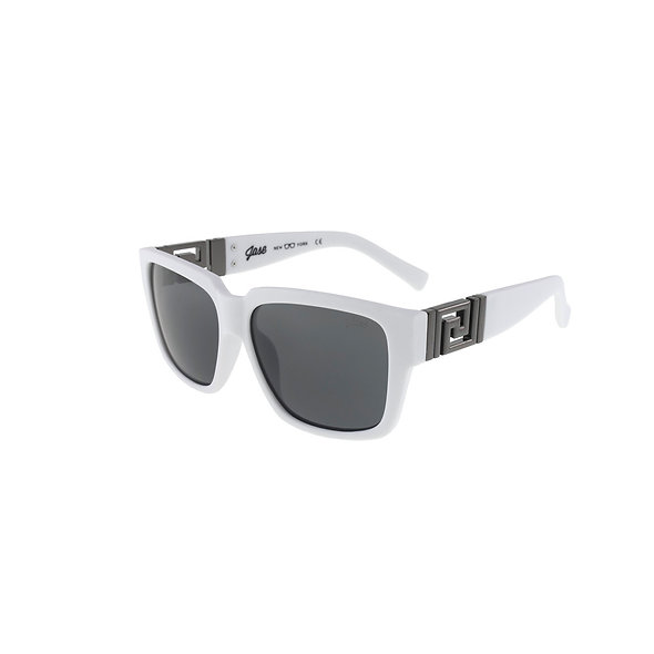 Jase New York Victor Sunglasses in Matte White