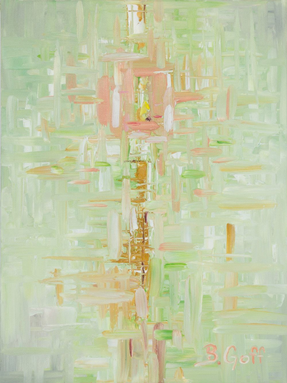 Abstract_Bradley Goff _ Michigan Oil Painting Artist