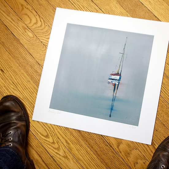 Out of the Fog - Limited Edition Giclee Print