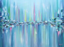 Northern Lights Series - Painting 11
