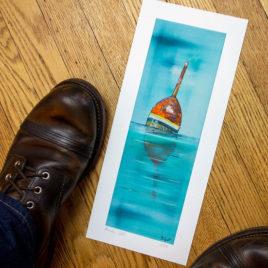 Gone Fishing - Limited Edition Giclee Print