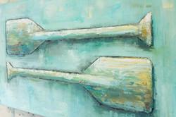 Paddles Series - Painting #3
