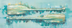 Paddles Series - Painting #1