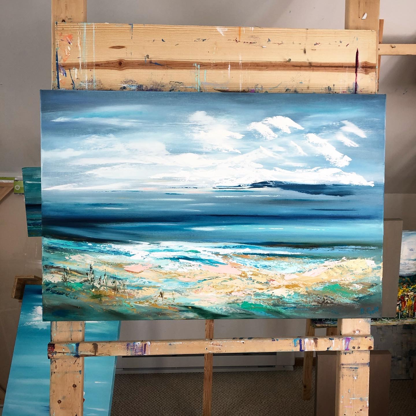 Sea Scape Painting