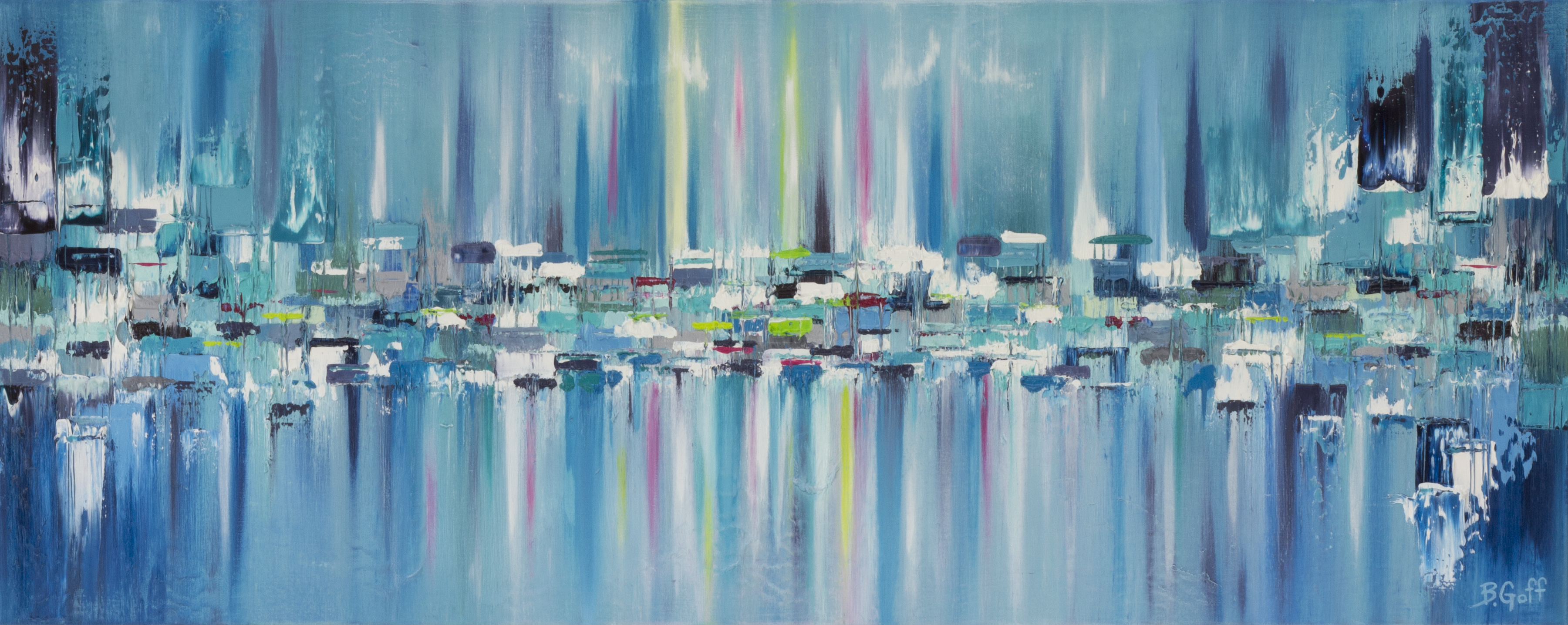 Northern Lights Series - Painting 21