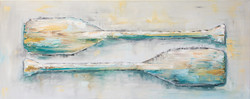Paddles Series - Painting #2