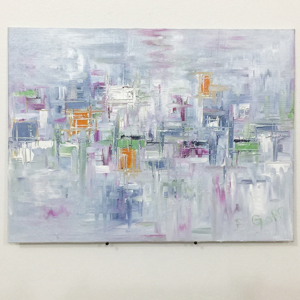 Abstract Painting - Art by Bradley Goff