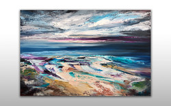Sea Scape Oil Painting