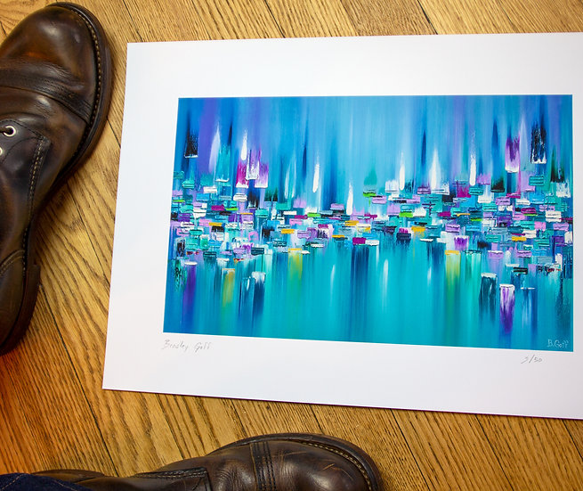 By the Bay - Limited Edition Giclee Print