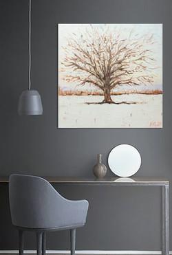 Oak Tree_Bradley Goff_Michigan Oil Painting Artist