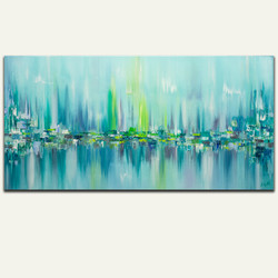 Northern Lights Series - Painting #6