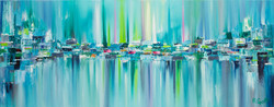 Northern Lights Series - Painting 10