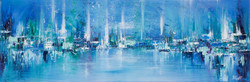 Northern Lights Series - Painting 17