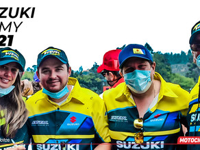 Team Suzuki Army: pilotos de primer nivel para el 2021