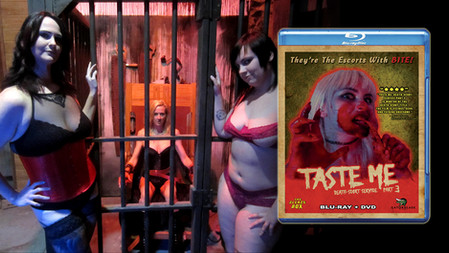 TASTE ME: DEATH-SCORT SERVICE PART 3 DVD/BLU RAY COMBO -$24.99