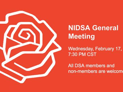 NIDSA General Meeting - February 2021