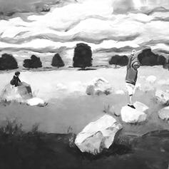 oil on canvas, 80x80