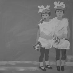 acrylic on canvas, 50x50 sold