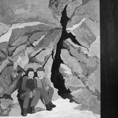acrylic on canvas, 150x150