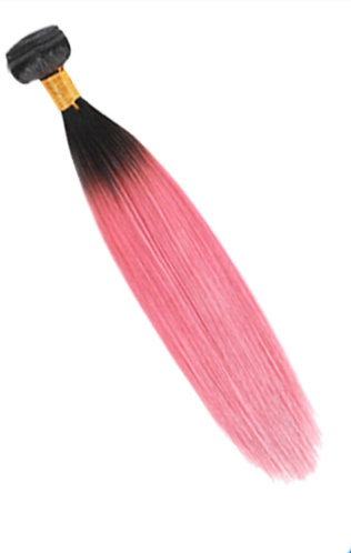 Ombre' Straight 1B/Rose Pink - ORDER BY REQUEST