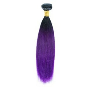 Ombre' Straight Color:1B/Purple - ORDER BY REQUEST